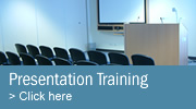 Presentation training takes your communications to the next level